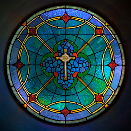 Stained Glass Window By Rudi Waros